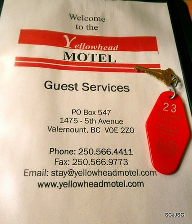 Valemount, Canada: Yellowhead Motel