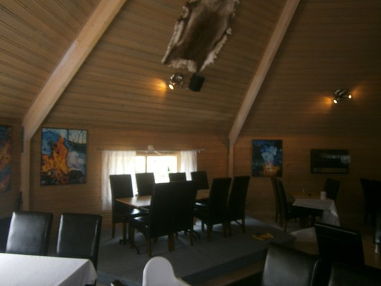 Borgafjall, Σουηδία: Restauranginteriör