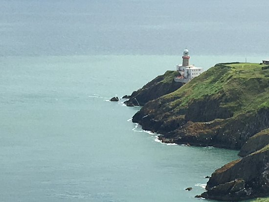 Howth, Irlande : the light house