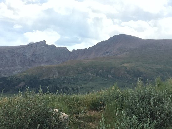 Georgetown, CO: View from the parking lot at Guanella Pass