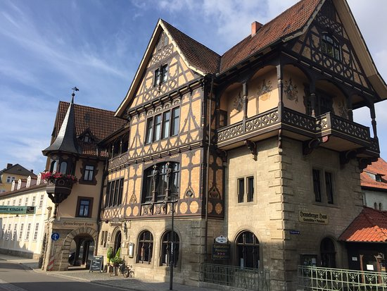 Meiningen, Almanya: Look from the outside