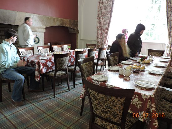 Thomastown, Irland: Tea and scones