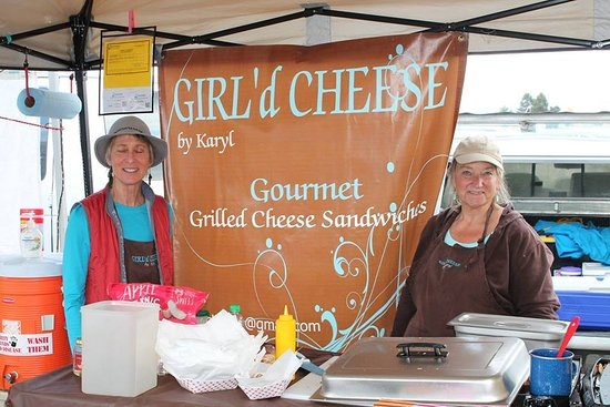 Bow, WA: GIRL'd CHEESE by Karyl at the Everett Farmer's Market serves ONLY Breadfarm Breads.