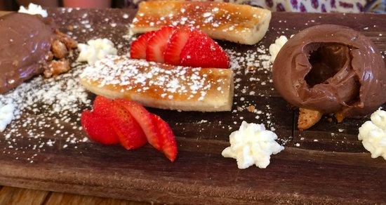 Santa Ynez, CA: Chocolate desert tray!