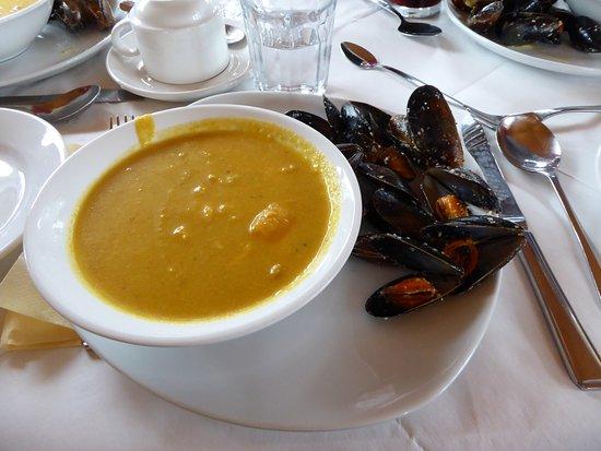 Линейн, Ирландия: Trés bon plat. Quelques moules de plus n'auraient pas été de refus