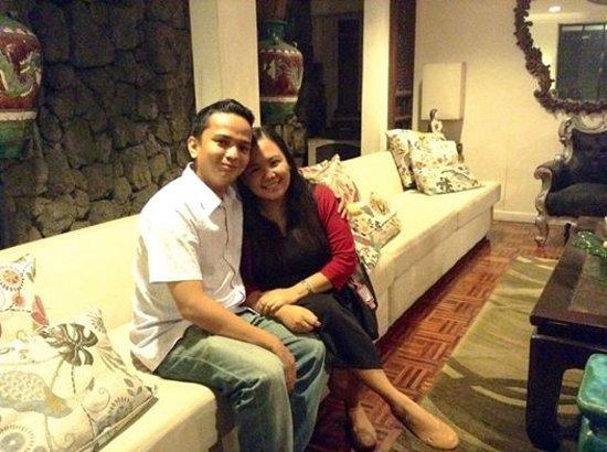 Marikina, Filippinene: Me and my wife inside the house.