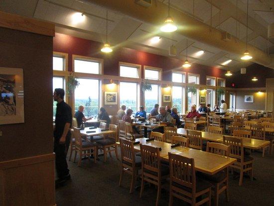 Base Camp Bistro - main dining room