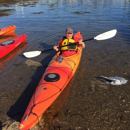 Rockport, MA: I survived the kayak trip to Thacher Island and back
