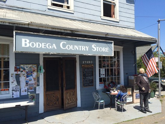 Bodega, Californië: Front of store
