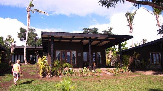 Paradise Taveuni: outside of room