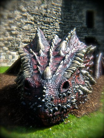 Beaumaris, UK: Welsh Dragon