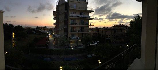 Hotel Montecarlo: Vista dalla camera numero 16