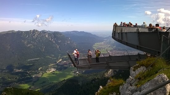 Alpspitz: The viewing platforms