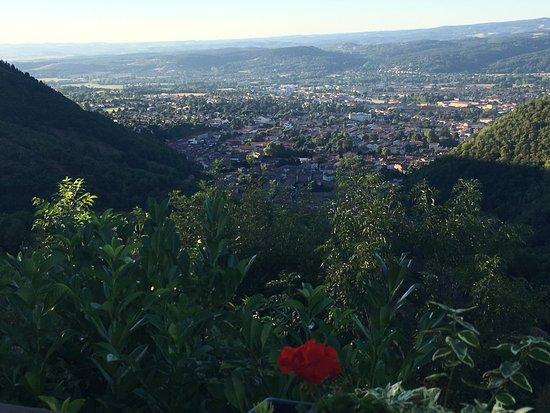 Mazamet, France : Un moment exceptionnel !!! Une vue magique, le temps c'est arrêté...