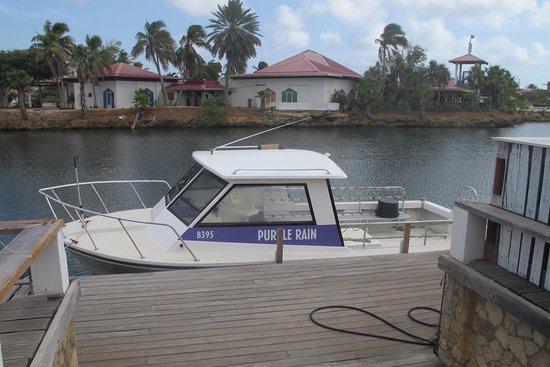 Kralendijk, Bonaire: Purple Rain dive boat