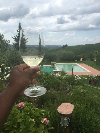 Montefiridolfi, Italia: Live life