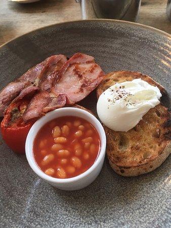 Balquhidder, UK: A wee breakfast!