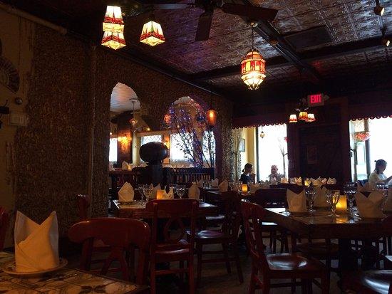 Somerville, MA: Restaurant interio