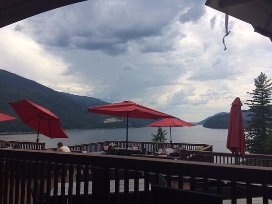 ‪‪Sicamous‬, كندا: View from our table at the restaurant‬