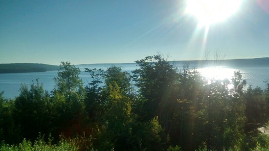 Holiday Inn Express Munising -  Lakeview: Balcony View