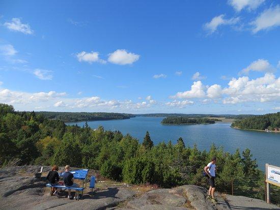Godby, Finnland: Aussicht vom Café