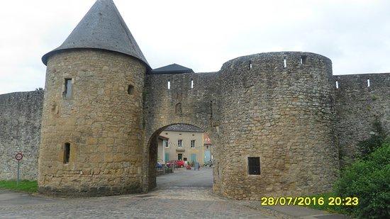 Moselle, Frankrike: portes