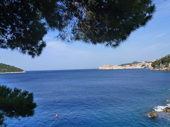 Villa Dubrovnik: Our view from the breakfast terrace