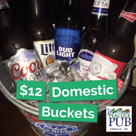 Pineville, WV: Buckets of Beer