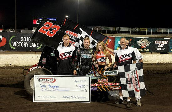Brandon, SD: Seth Parks It In Victory Lane