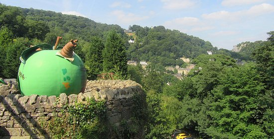 Matlock Bath, UK: Lovely view