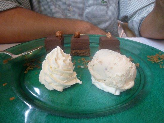 Saint Savin, ฝรั่งเศส: dessert chocolat