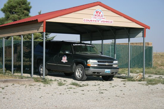Rawlins, WY: Courtesy vehicle for all guests