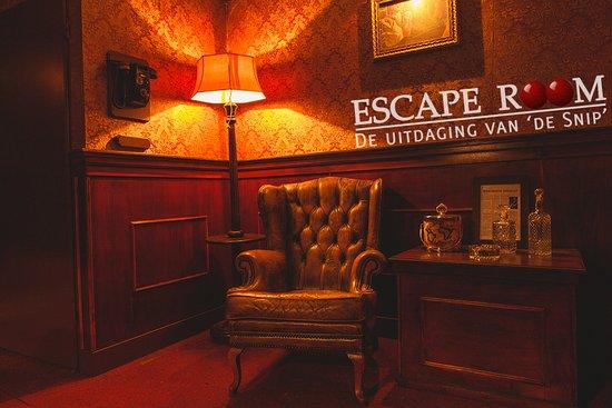 Escaperoom De Uitdaging van 'de Snip'