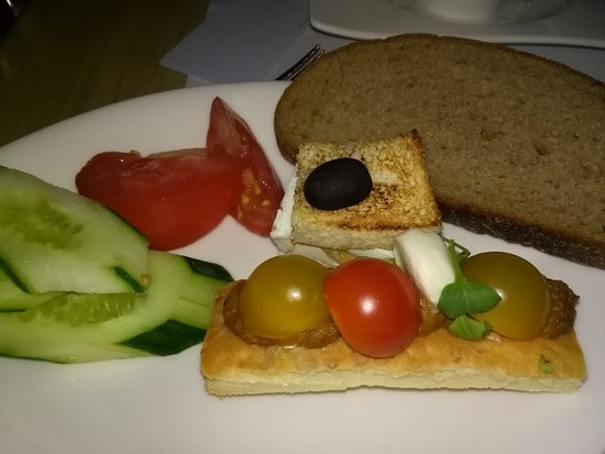Hotel Dubna Skala: 朝食