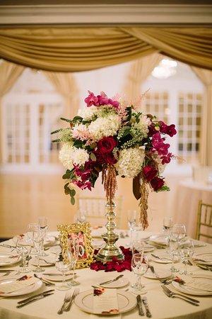 Hammonton, نيو جيرسي: Wedding centerpiece 
