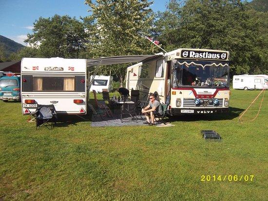 Forde, النرويج: campingbuss treff 2014.