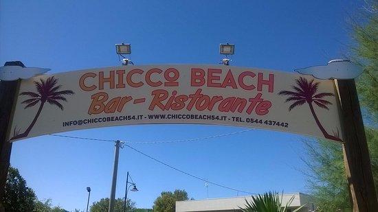Chicco beach punta marina terme ristorante recensioni numero di