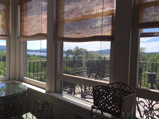 Botsford Briar: view from veranda of magnolia room