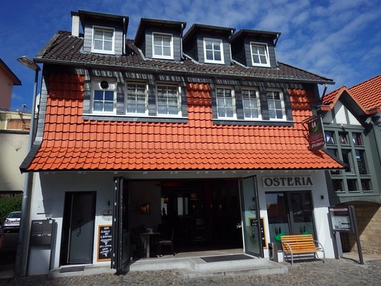 Bad Gandersheim, Alemania: Front of Osteria D'Antonio Gandersheim, Germany