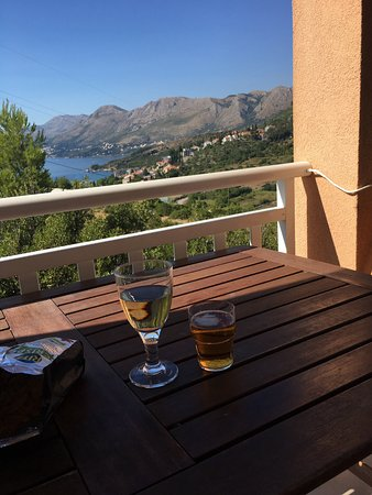 Balcony in Villa Ivy