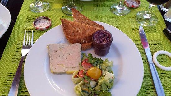 Maubec, France : Foie gras de carnard