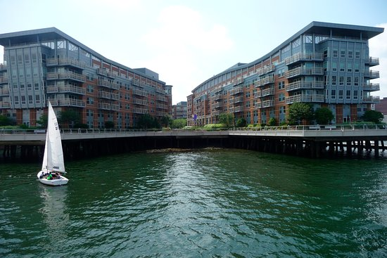 hotel from harbour cruise picture of battery wharf hotel. Black Bedroom Furniture Sets. Home Design Ideas
