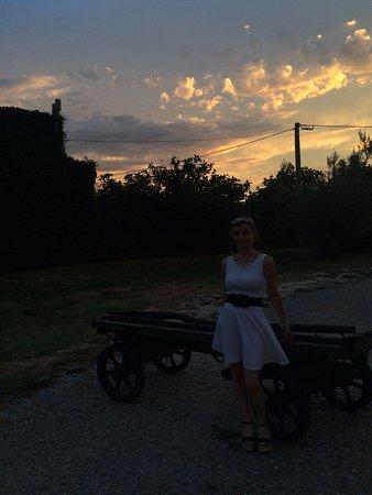 San Dorligo della Valle-Dolina, Italia: splendido tramonto