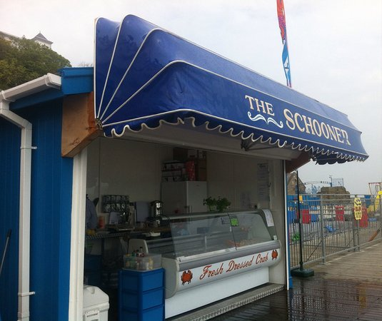 Conwy County, UK: Festival seafoods