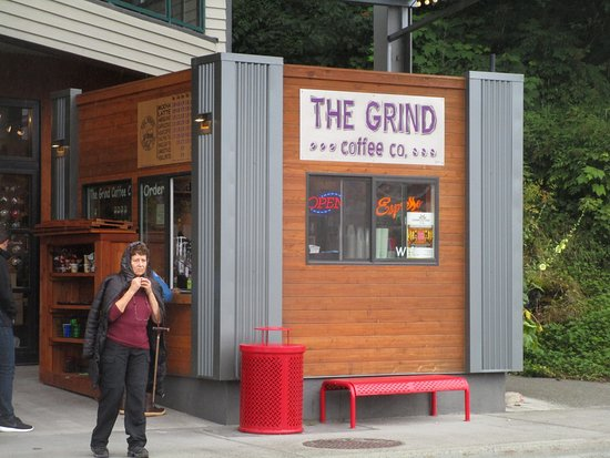 The Grind Coffee Co: The Grind Coffee - front of shop