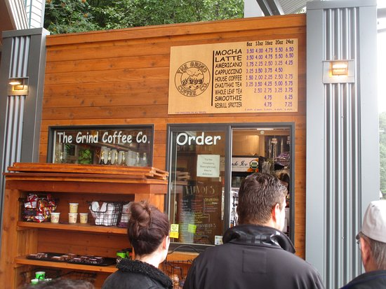 The Grind Coffee Co: The Grind Coffee - coffee line