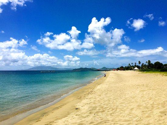 Basseterre, St. Kitts: Beach at Nevis