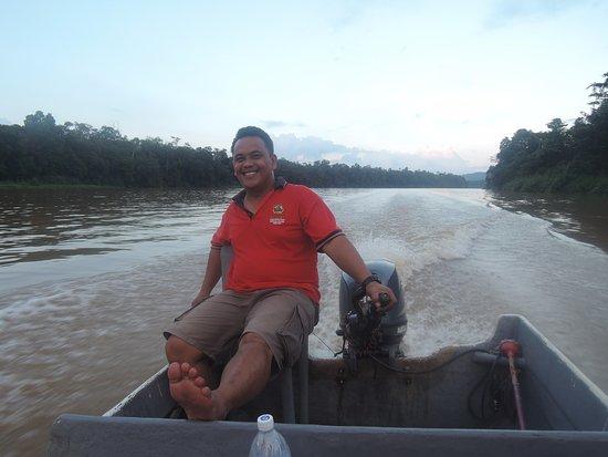 Sukau, Malezya: Our guide