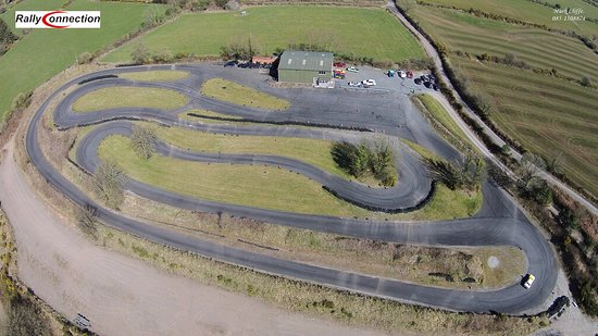 Dungarvan, Irlanda: A birds eye view of the track at Rallyconnection