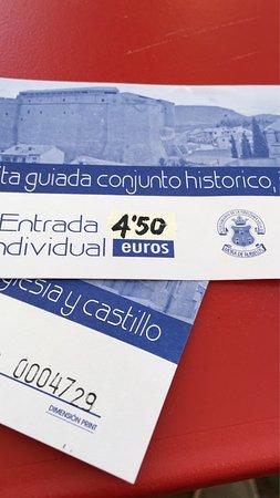 Entrada al Catillo y precio visita guiada a Mora de Rubielos